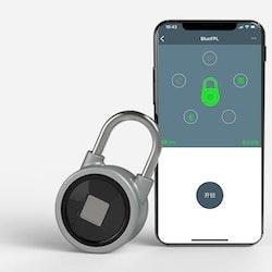 Bluetooth Hänglås Fingeravtrycksläsare