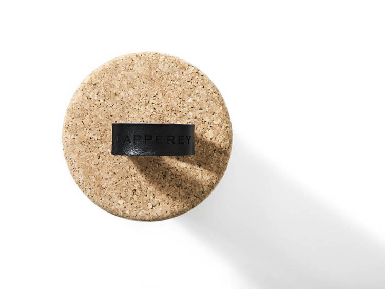Natural Cork Roller black strap