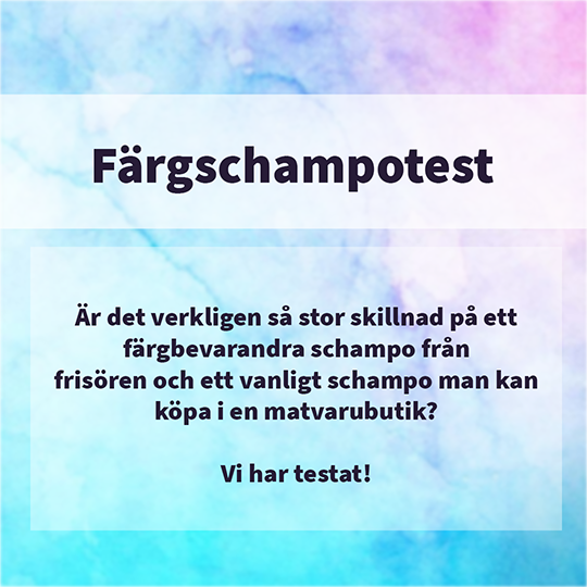 Färgschampotest