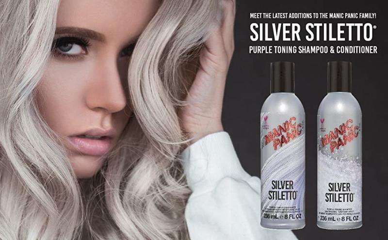 Silver schampo och balsam från Manic Panic