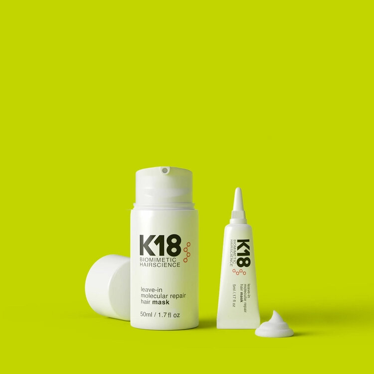 K18 Leave-in molecular repair mask