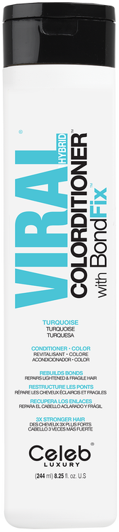 Viral Hybrid Colorditioner Turquoise 244 ML