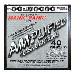 Manic Panic Flash Lightning, Blekning 40 VOL (12%)