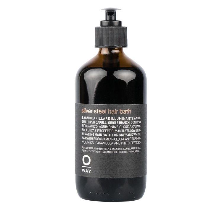 Silver Steel Hair Bath 240 ml