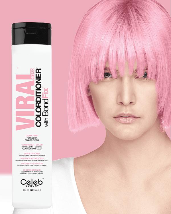 Viral Hybrid Colorditioner Light Pink