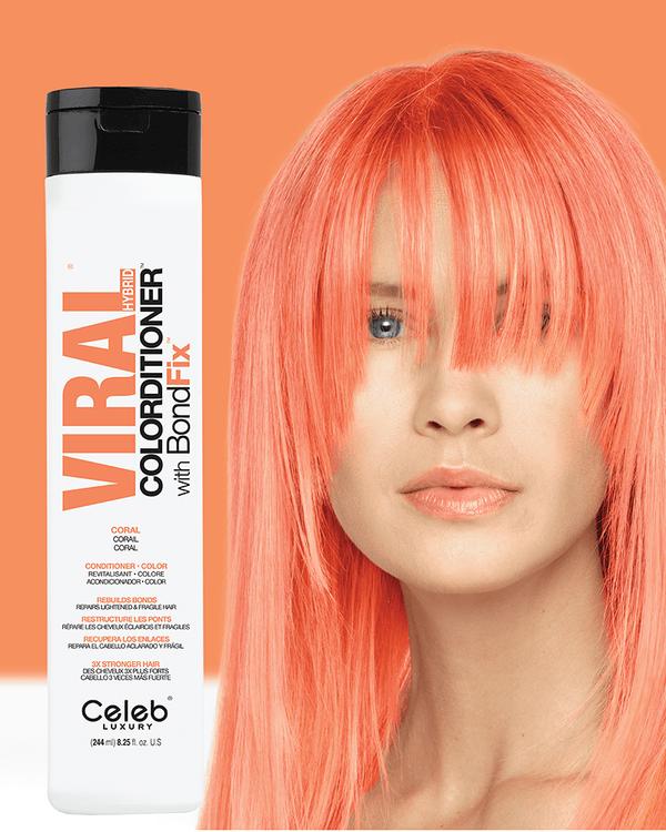 Viral Hybrid Colorditioner Coral