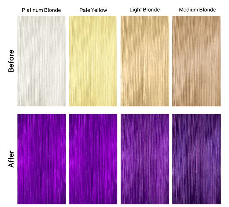 Viral Hybrid Colorditioner Purple