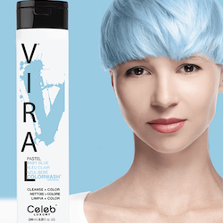Viral Colorwash Schampo, Pastel Baby Blue