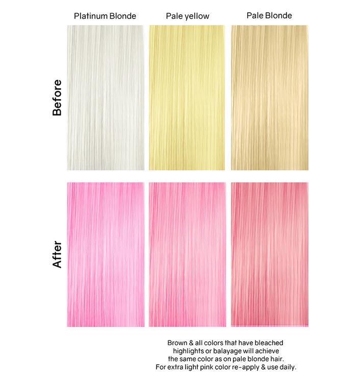 Viral Colorwash Schampo, Pastel Light Pink