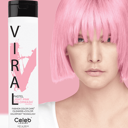 Viral Colorwash Schampo, Pastel Light Pink