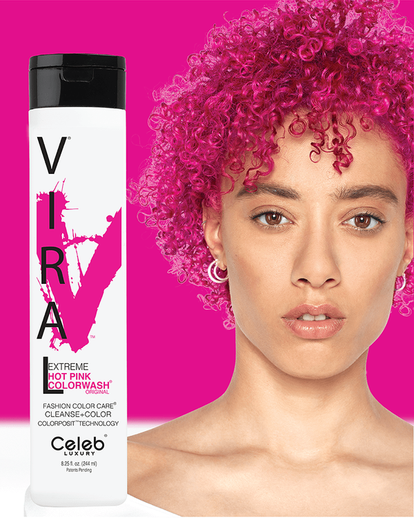 Viral Colorwash Schampo, Extreme Hot Pink