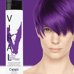 Viral Colorwash Schampo, Extreme Purple