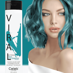 Viral Colorwash Schampo, Extreme Teal