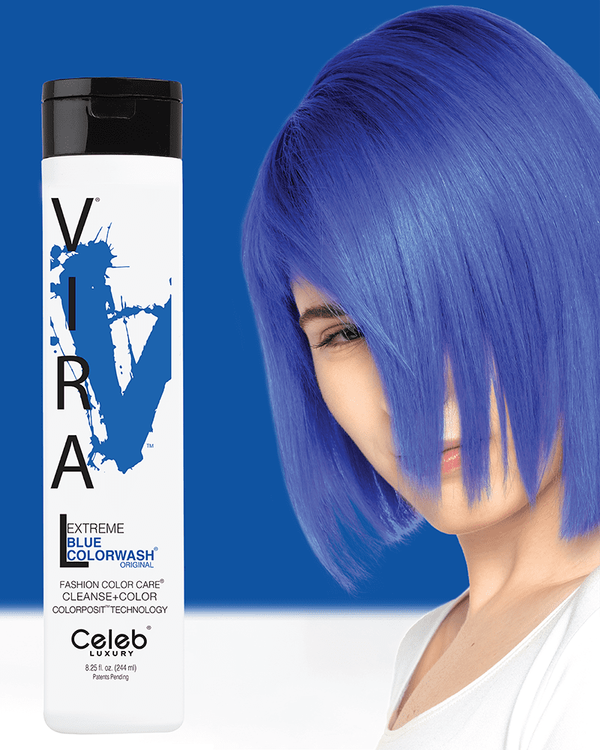 Viral Colorwash Schampo, Extreme Blue