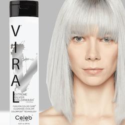 Viral Colorwash Schampo, Extreme Silver