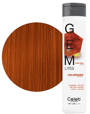 Gem Lites Schampo, Fire Opal Copper