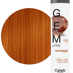 Gem Lites Schampo, Amber Copper Brown