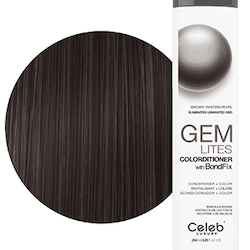 Gem Lites Colorditioner Brown Tahitian Pearl. Eliminates unwanted red244 ml