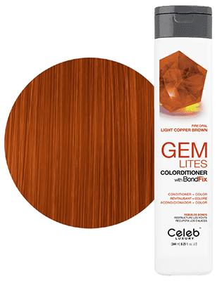 Gem Lites Colorditioner Fire Opal Light Copper Brown 244 ml