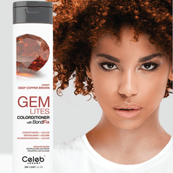 Gem Lites Colorditioner Amber Deep Copper Brown 244 ml