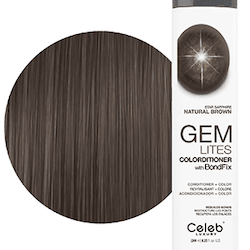 Gem Lites Colorditioner Star Sapphire Natural Brown 244 ml