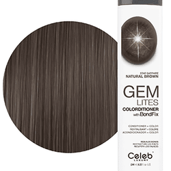 Gem Lites Colorditioner Star Sapphire Natural Brown 244 ml