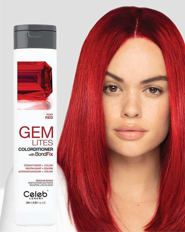 Gem Lites Colorditioner Ruby Red 244 ml