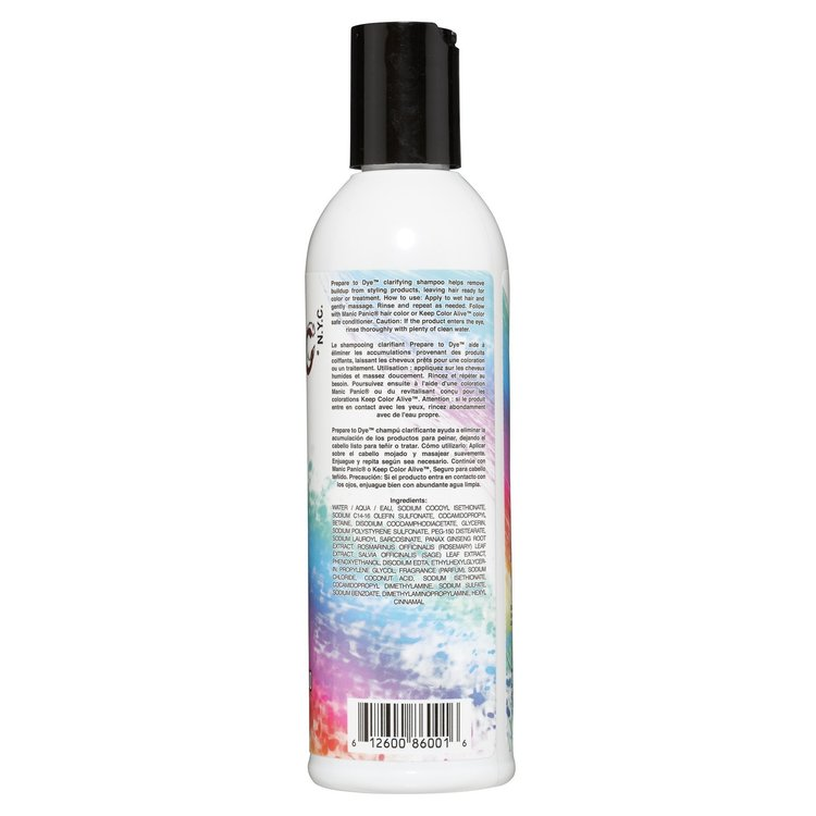 Stort Kit - Prepare to dye - Not Fade away - Keep color alive 3x236ml