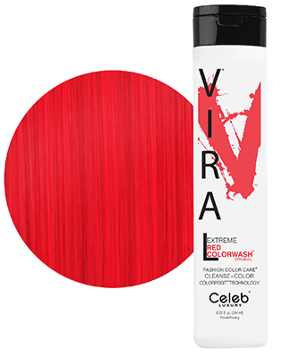 Get the look #3 - Fireball - Red Colorwash - Red Colorditioner