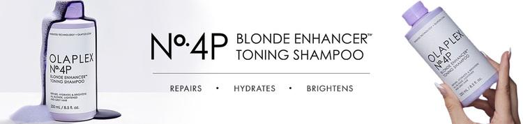 Olaplex No.4P - Blonde Enhancer Toning Schampo