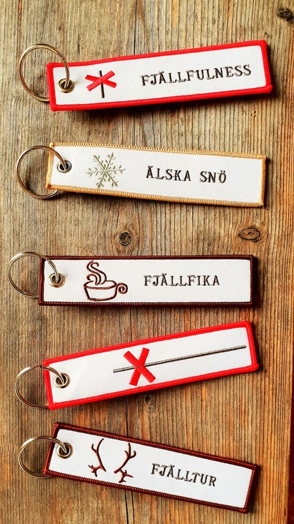 FJÄLLFIKA Nyckelring/Tag