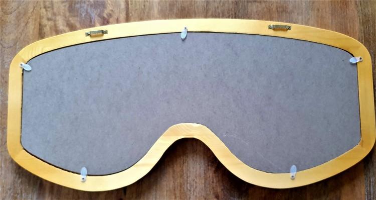 Skidglasögon/Googels - Roseguld