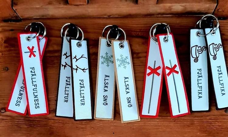LEDKRYSS Nyckelring/Tag