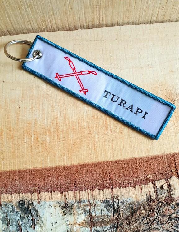 TURAPI Nyckelring/tag