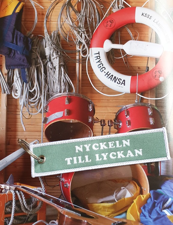 NYCKELN TILL LYCKAN  Nyckelring/tag