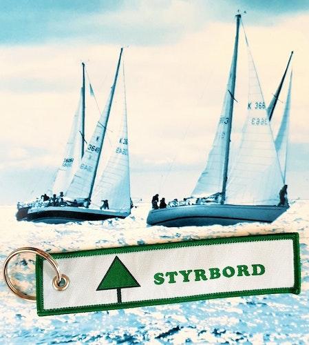 STYRBORD Nyckelring/tag