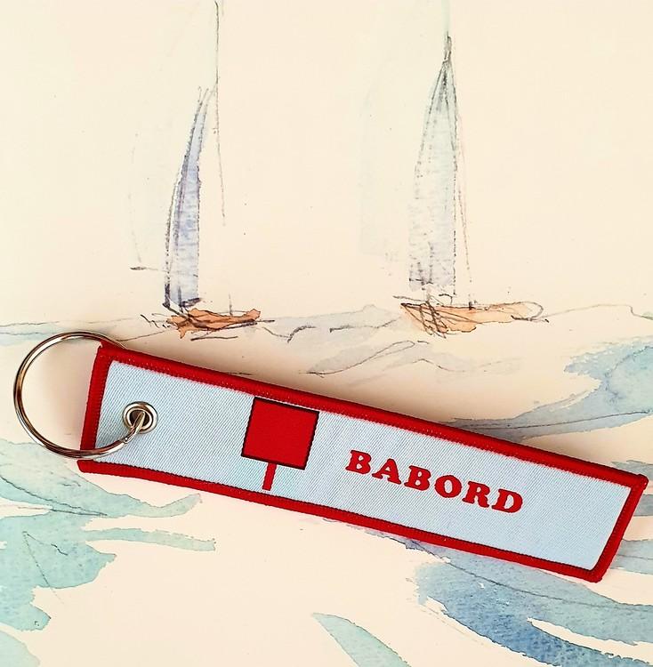 BABORD  Nyckelring/tag