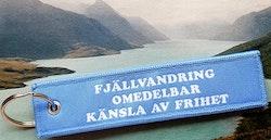 FJÄLLVANDRING OMEDELBAR KÄNSLA AV FRIHET  Nyckelring/tag