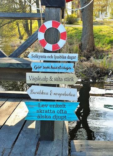 Livbojskylt - Sommar & hav