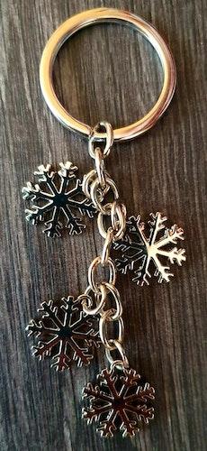 Nyckelring - Älska snö