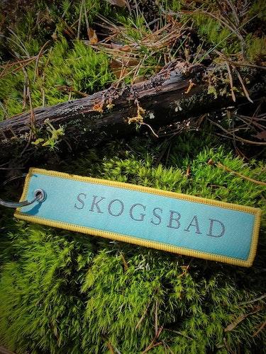SKOGSBAD Nyckelring/tag
