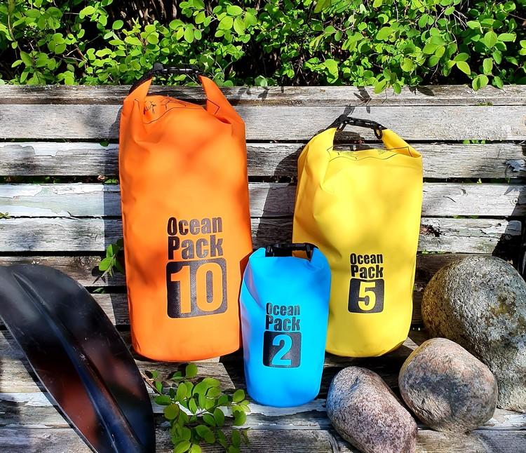 Vattentät packpåse - 10 liter