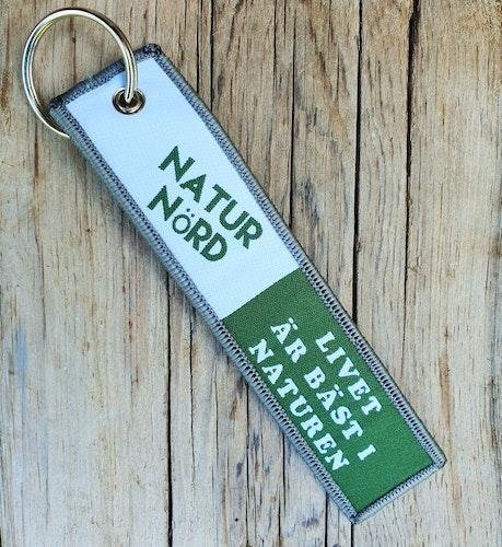 NATURNÖRD -  Nyckelring/tag