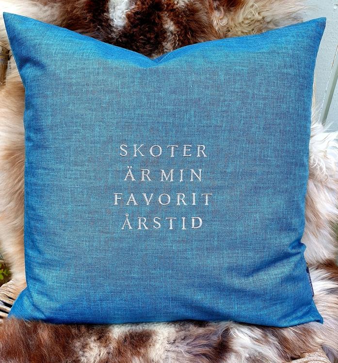 SKOTER ÄR MIN FAVORITÅRSTID, blått