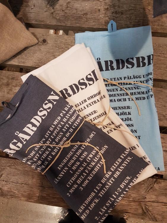 Paket med alla tre Skärgårdshanddukar