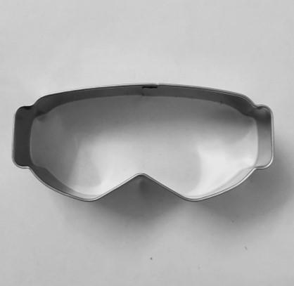 Skidglasögon/Googels pepparkaksform