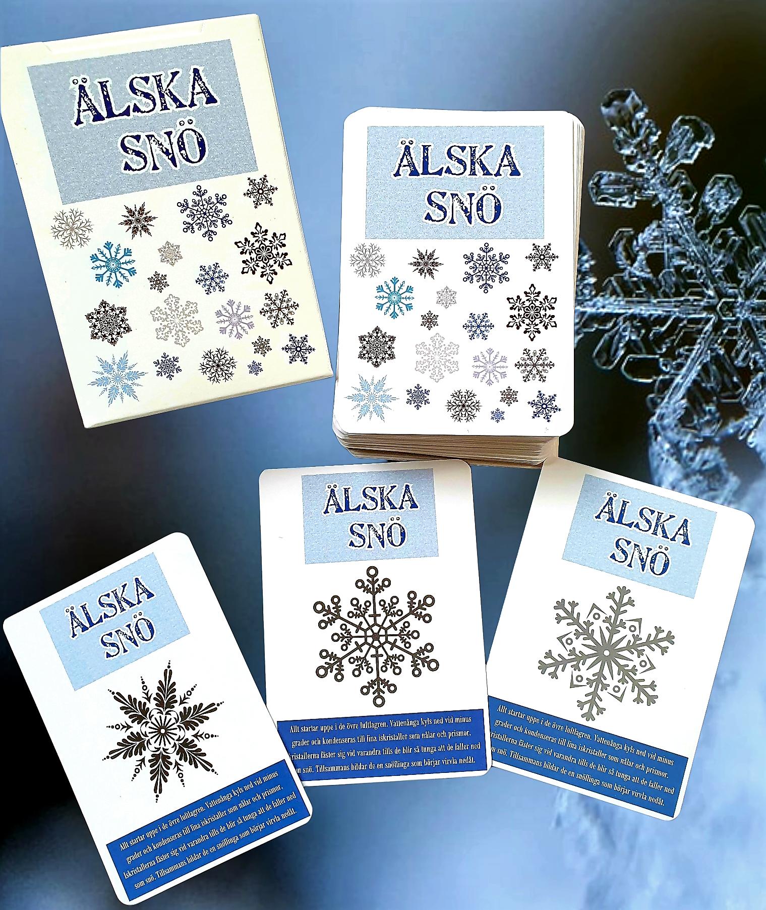 ÄLSKA SNÖ - kortspel