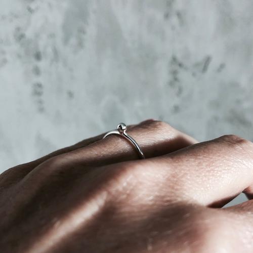 """Ring """"Kula"""" Silver/Guld"""