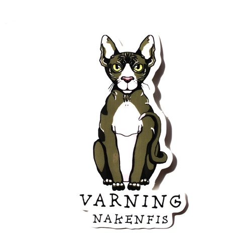 Sticker Nakenfis