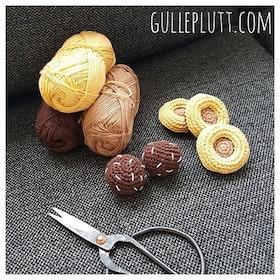 Virkade chokladbollar